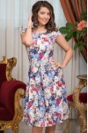 Rochie bumbac sidefat Anemarie